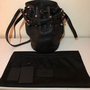 Alexander Wang small Diego bucket bag lamb skin